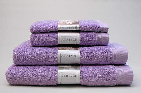 www.multicotton.pl ręczniki do łazienki w kolorze lawendowym