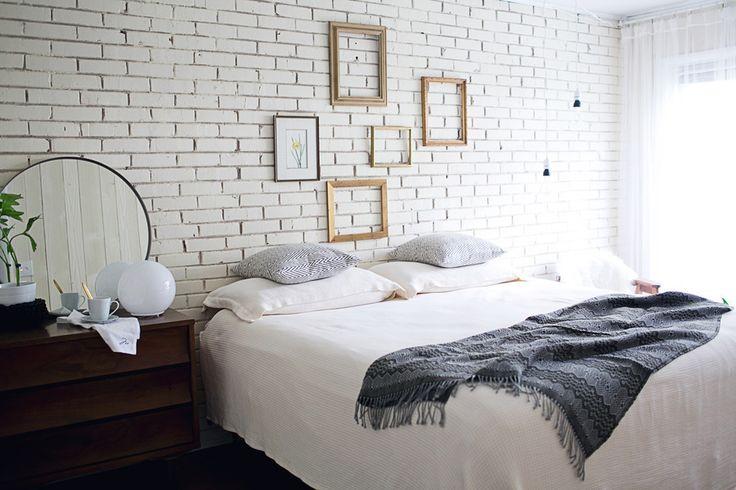 Sypialnia Cegla Na Scianie