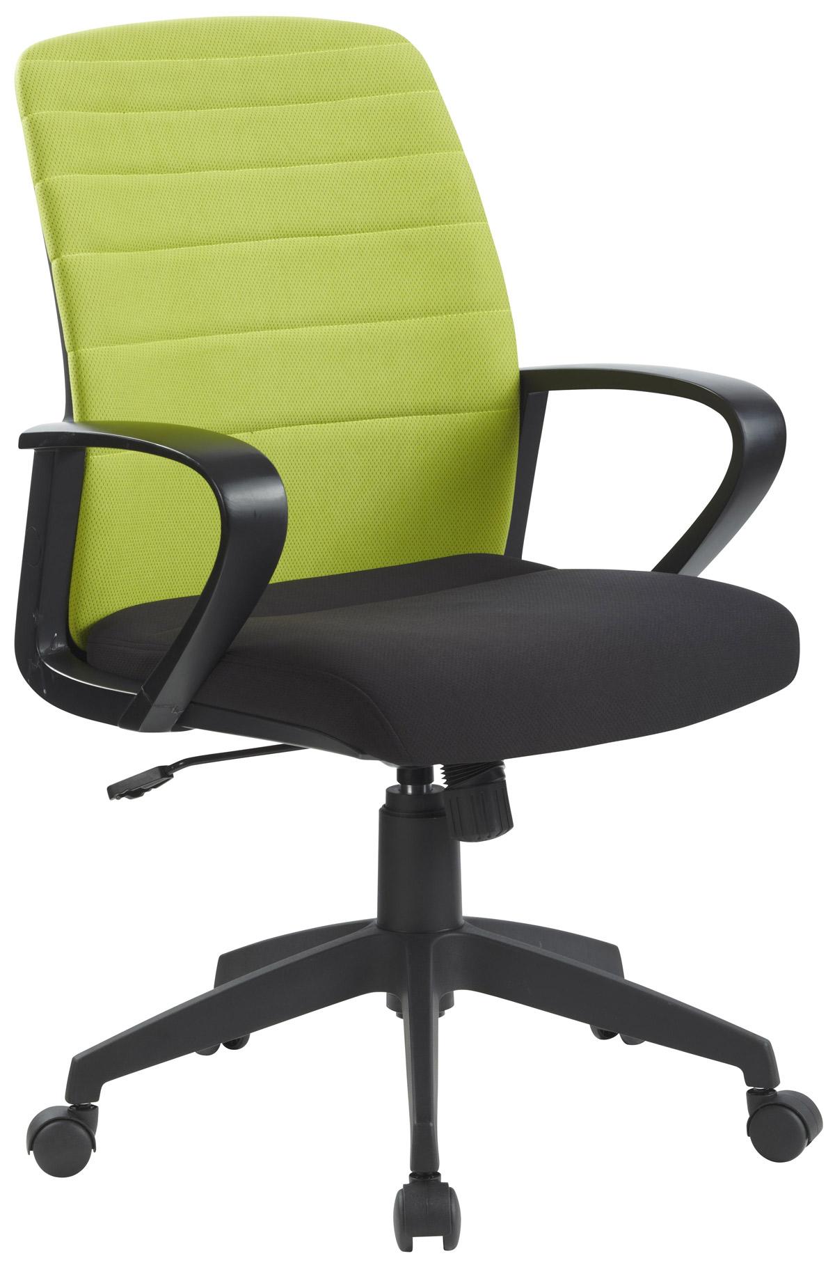 Agata Meble Krzesło obrotowe z zielonym oparciem