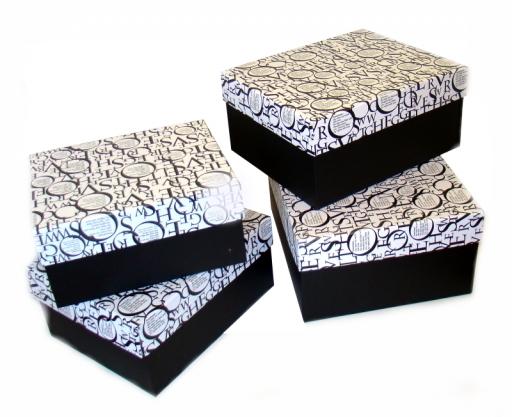 Softpack Czarno-białe pudełka