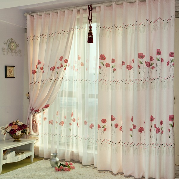 -font-b-Poppy-b-font-flower-romantic-fabric-window-screening-font-b-curtain-b-font