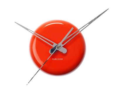 pt, Zegar kropka  pomarańczowym kolorze