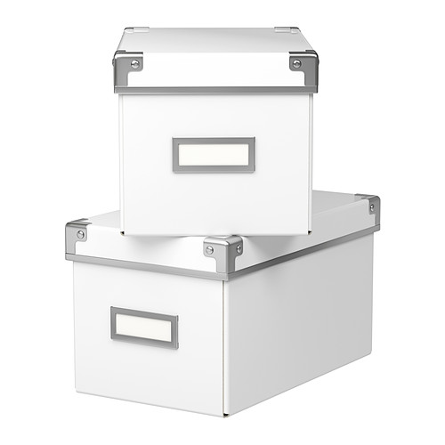 IKEA Białe pudełka