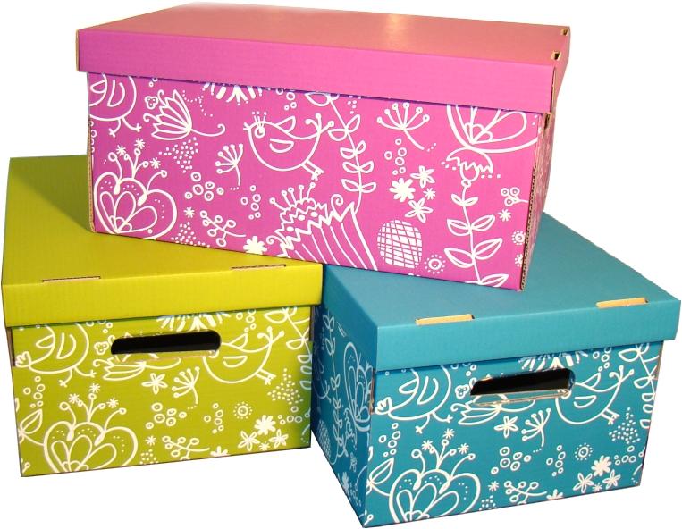 Softpack Pudełko w trzech różnych kolorach