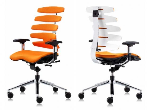 4Plan Krzesło obrotowe z ciekawym oparciem