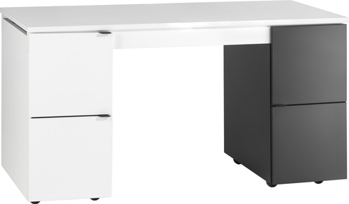 VOX Biurko czarno-białe