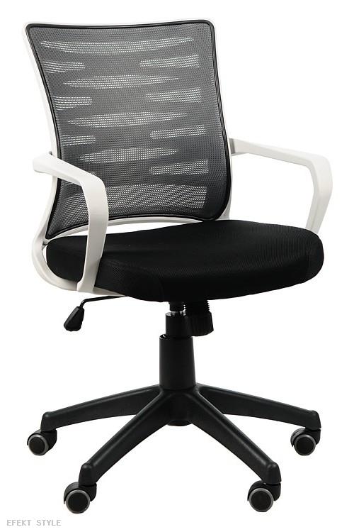 Efekt Style Krzesło obrotowe czarno-biało-szare